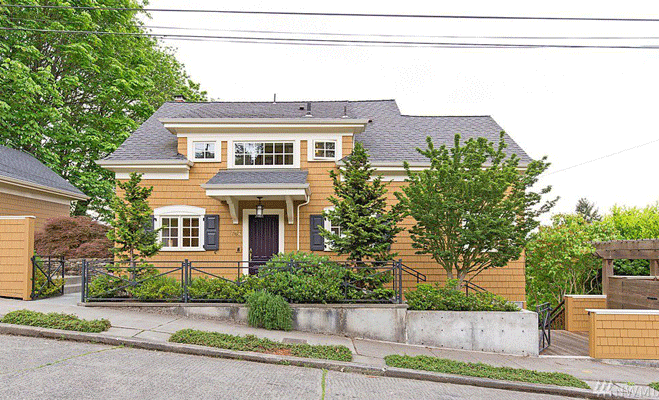 Madrona View Front Exterior