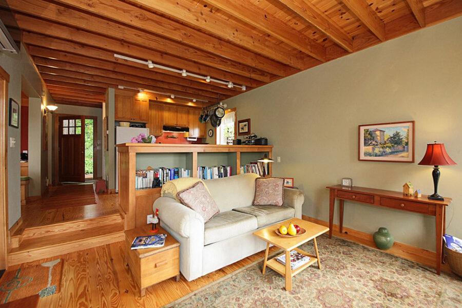 Langley Craftsman Living Room
