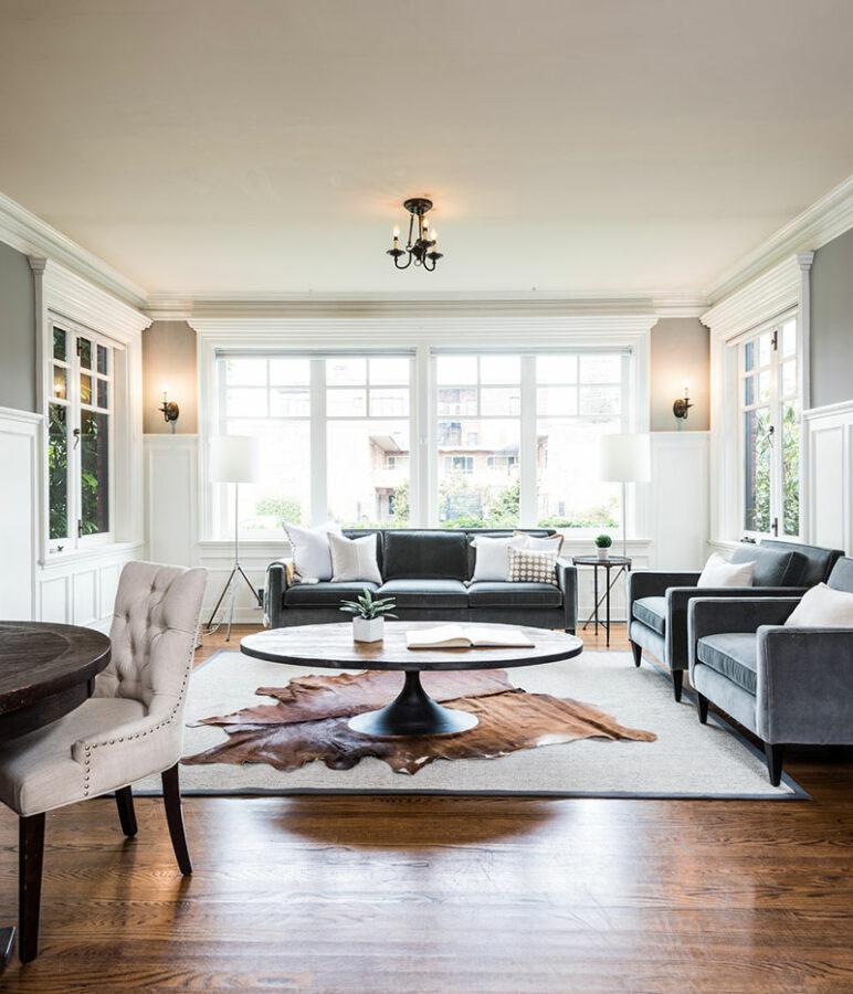 Belmont Mansion Living Room