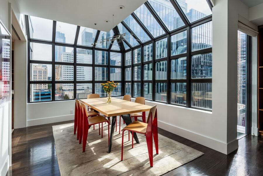 98 Union Penthouse Dining Area