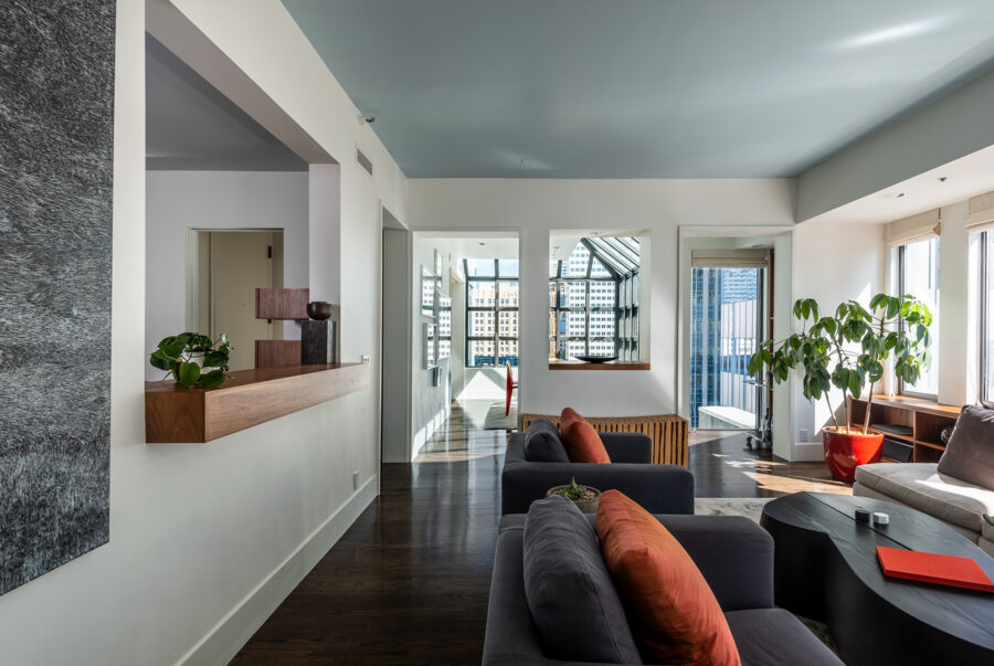 98 Union Penthouse Living Room