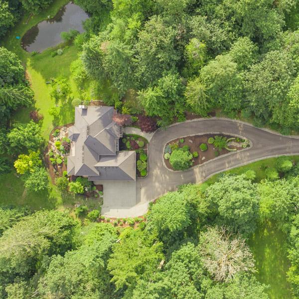Cornerstone Estate Aerial