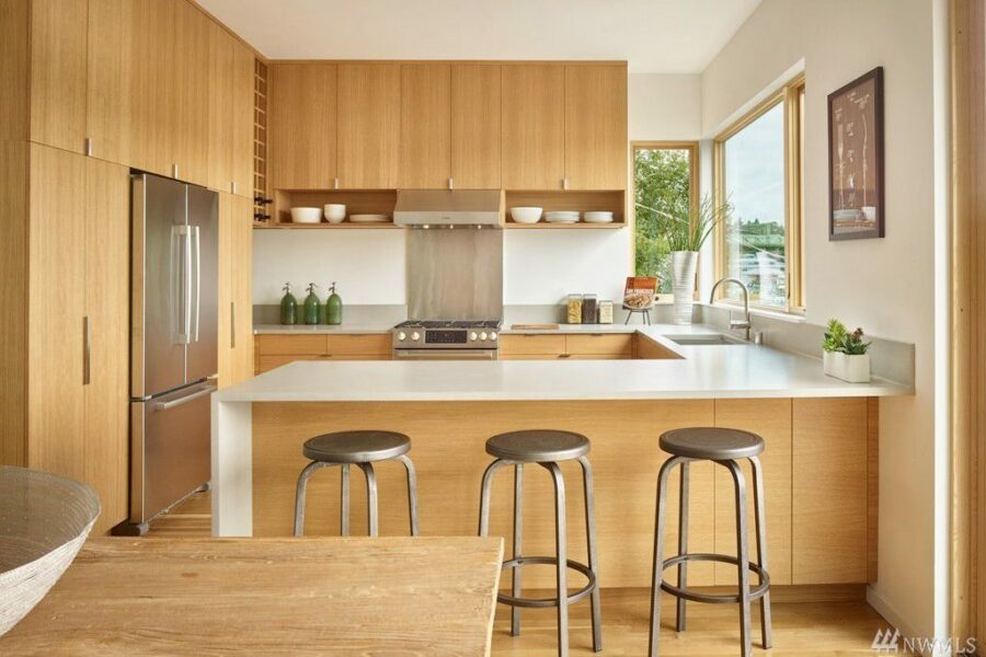 Portage Bay Waterfront Kitchen