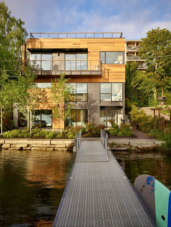 Portage Bay Waterfront Exterior Dock