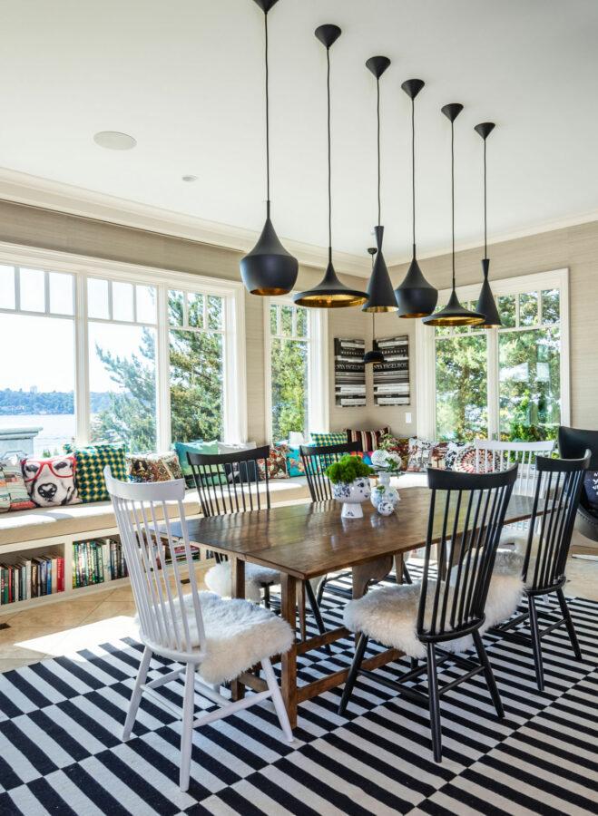 Mercer Island Estate Dining Area