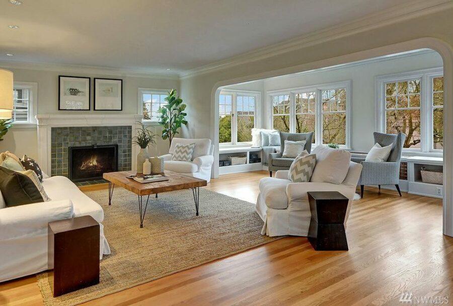 Capitol Hill Classic Living Room