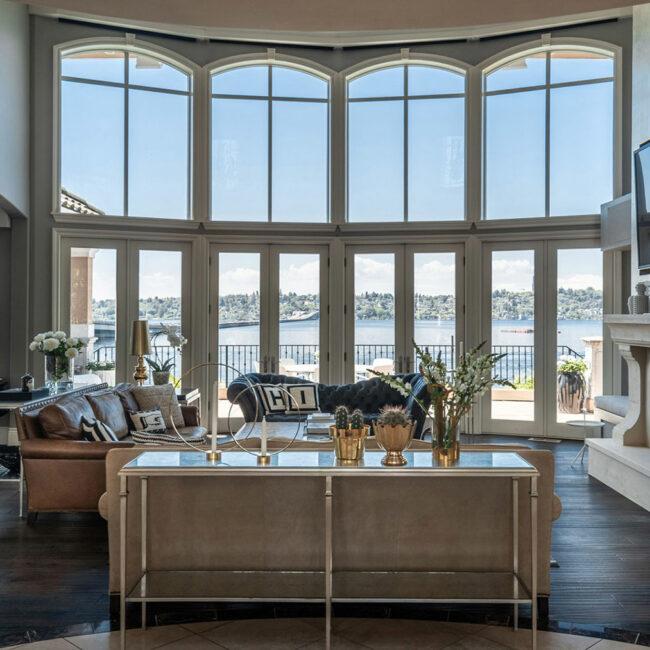 Mercer Island Estate Living Room