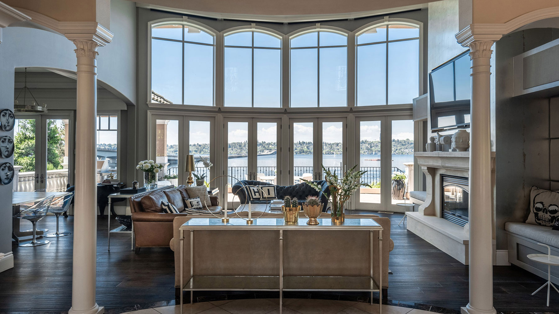 Mercer Island Estate Living Room