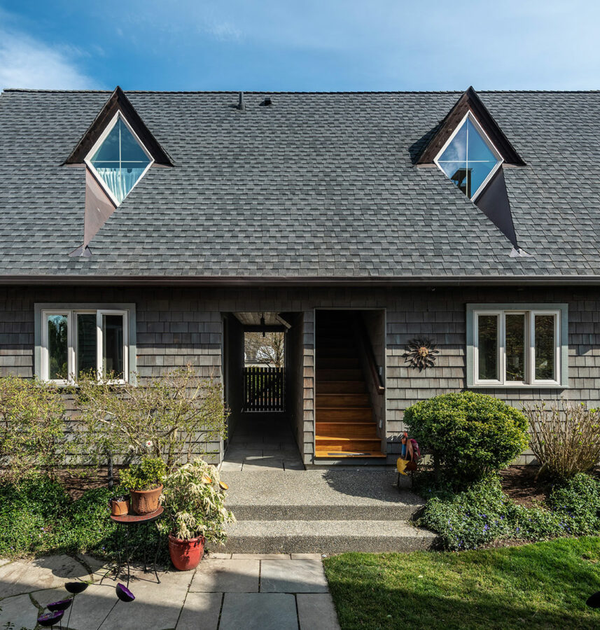 West Seattle Custom Guest House Exterior
