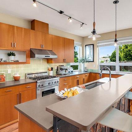 West Seattle View Kitchen