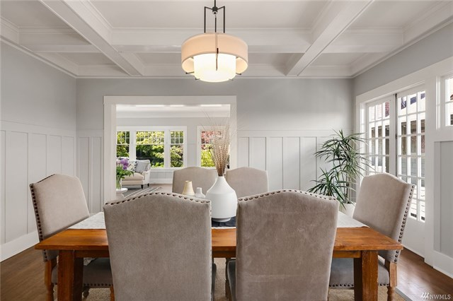 Capitol Hill Craftsman Dining Room