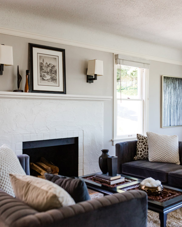 Heritage Madrona View BungalowLiving Room Fireplace