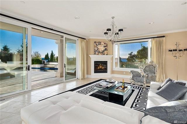 Mediterranean View Estate Living Room