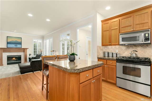 Mukilteo Craftsman Kitchen
