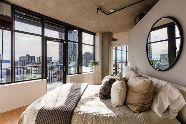 Belltown Loft Bedroom