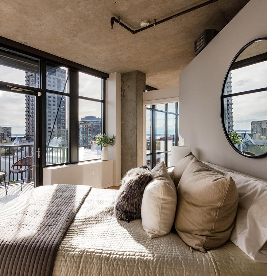 Belltown Loft Bedroom