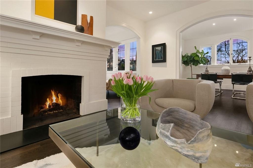 Capitol Hill Prewar Fireplace