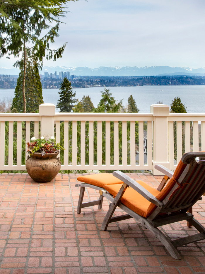 Madrona Colonial Deck View