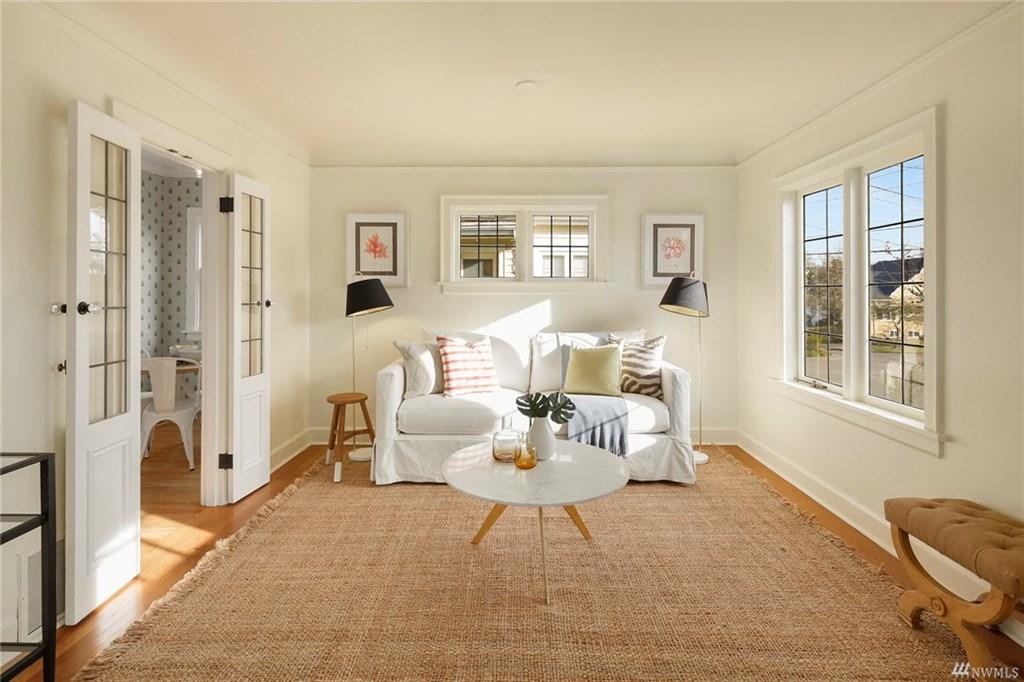 Madison Park Tudor Living Room